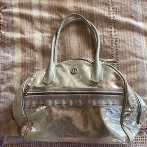 Lululemon Silver Tote bag